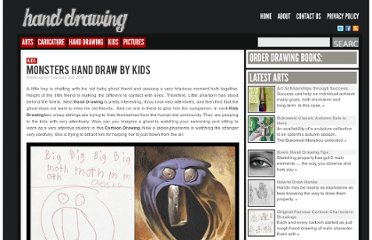 http://www.drawinghand.net/monsters-hand-drawing-by-kids/