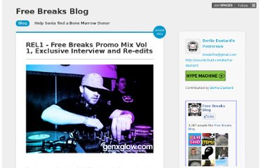 http://freebreaksblog.posterous.com/rel1-exclusive-interview-mix-and-re-edits