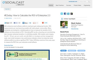 http://blog.socialcast.com/e2sday-how-to-calculate-the-roi-of-enterprise-2-0/