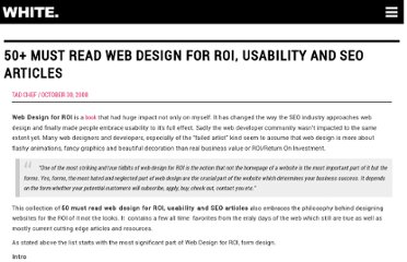 http://www.seoptimise.com/blog/2008/10/50-must-read-web-design-for-roi-usability-and-seo-articles.html