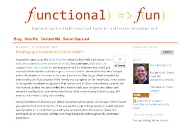 http://blog.functionalfun.net/2008/09/hooking-up-commands-to-events-in-wpf.html