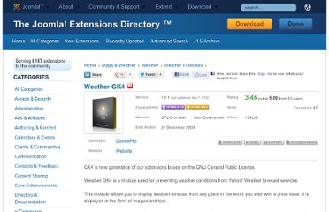 http://extensions.joomla.org/extensions/maps-a-weather/weather/weather-forecasts/10849