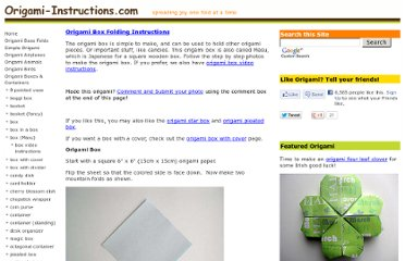 http://www.origami-instructions.com/origami-box.html