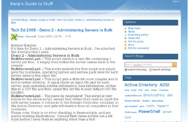 http://blogs.technet.com/b/benp/archive/2008/06/12/tech-ed-2008-demo-2-administering-servers-in-bulk.aspx