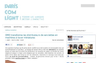 http://www.pariscomlight.com/2011/03/omo-transforme-les-distributeurs-de-serviettes-en-machines-a-laver-miniatures/