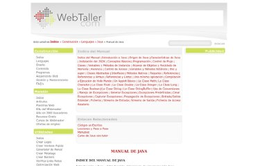 http://www.webtaller.com/manual-java/indice_manual_java.php