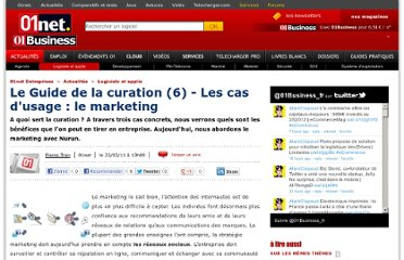 http://pro.01net.com/editorial/530475/le-guide-de-la-curation-(6)-les-cas-dusage-le-marketing/?r=/rss/dossiersentreprise.xml?r=/rss/dossiersentreprise.xml