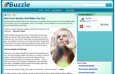 http://www.buzzle.com/articles/sad-love-quotes-that-make-you-cry.html