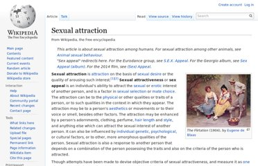 http://en.wikipedia.org/wiki/Sexual_attraction