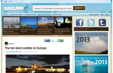 http://www.gadling.com/2011/03/16/the-ten-best-castles-in-europe/