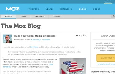 http://www.seomoz.org/blog/build-your-social-media-embassies