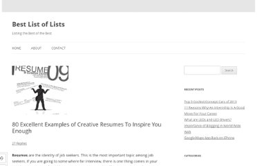 http://bestlistoflists.com/80-excellent-examples-of-creative-resumes-to-inspire-you-enough.html