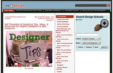 http://www.allgraphicdesign.com/graphicsblog/2009/03/15/self-promotion-designing-tips-ideas-resources-for-graphic-designers-web-designers/