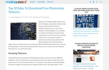 http://www.makeuseof.com/tag/top-10-sites-to-download-free-photoshop-textures-nb/