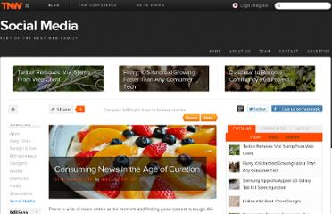 http://thenextweb.com/socialmedia/2011/03/24/consuming-news-in-the-age-of-curation/