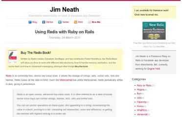 http://jimneath.org/2011/03/24/using-redis-with-ruby-on-rails.html