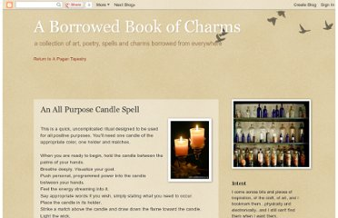 http://bookofcharms.blogspot.com/2008/12/all-purpose-candle-spell.html
