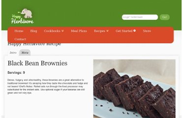 http://happyherbivore.com/recipe/vegan-blackbean-brownies/