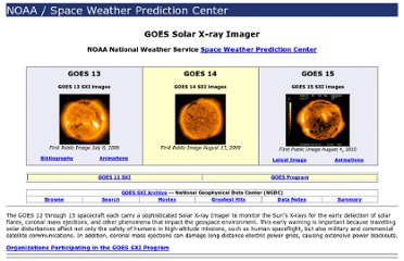 http://www.swpc.noaa.gov/sxi/index.html