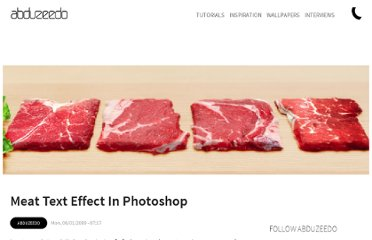 http://abduzeedo.com/meat-text-effect-photoshop