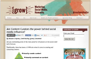 http://www.businessesgrow.com/2011/03/24/are-content-curators-the-new-standard-of-social-media-influence/