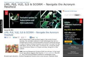 http://blogs.adobe.com/captivate/2011/01/lms-ple-vle-navigate-the-acronym-minefield.html