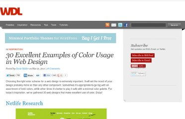 http://webdesignledger.com/inspiration/30-excellent-examples-of-color-usage-in-web-design