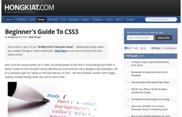 http://www.hongkiat.com/blog/beginners-guide-to-css3/