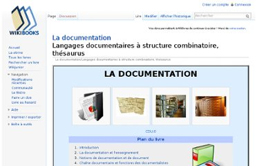 http://fr.wikibooks.org/wiki/La_documentation/Langages_documentaires_%C3%A0_structure_combinatoire,_th%C3%A9saurus