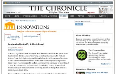 http://chronicle.com/blogs/innovations/academically-adrift-a-must-read/28423