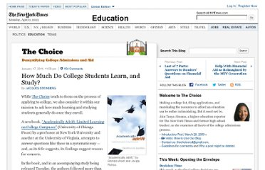 http://thechoice.blogs.nytimes.com/2011/01/17/academically-adrift/