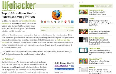 http://lifehacker.com/?_escaped_fragment_=5205629/top-10-must+have-firefox-extensions-2009-edition#!5205629/top-10-must+have-firefox-extensions-2009-edition