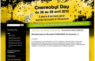 http://www.chernobyl-day.org/article/documentaires-de-wladimir
