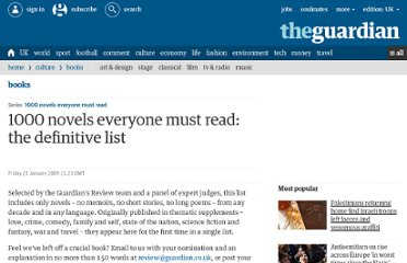http://www.guardian.co.uk/books/2009/jan/23/bestbooks-fiction