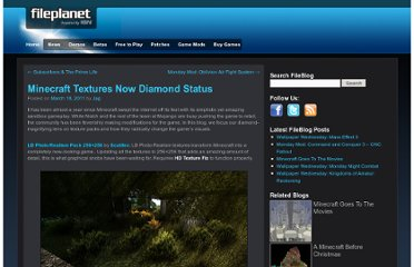 http://blog.fileplanet.com/2011/03/18/minecraft-textures-now-diamond-status/