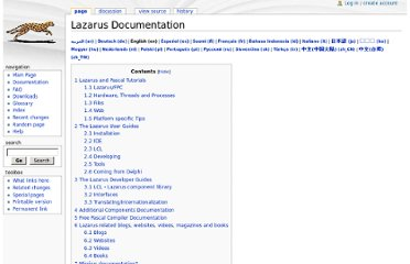 http://wiki.lazarus.freepascal.org/Lazarus_Documentation#Lazarus_related_blogs_and_websites