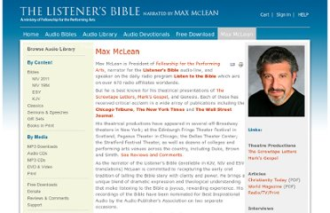 http://www.listenersbible.com/about-max/max-mclean