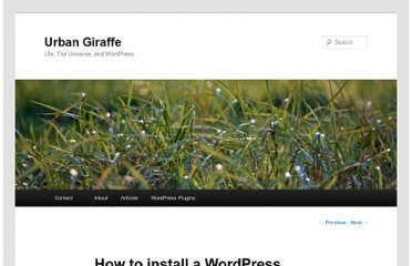 http://urbangiraffe.com/articles/how-to-install-a-wordpress-plugin/