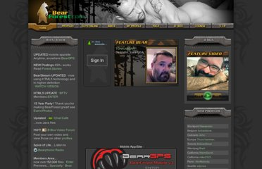 Gay Bear Personals, Gay Bears, Gay Personals, Gay Male Personals, Bear Chat, ...