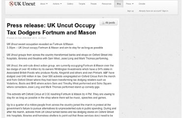 http://www.ukuncut.org.uk/blog/press-release-uk-uncut-occupy-tax-dodgers-fortnum-and-mason