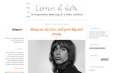 http://www.lettersofnote.com/2010/01/hang-on-my-love-and-grow-big-and-strong.html