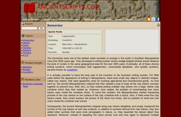 http://www.ancientscripts.com/sumerian.html