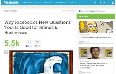 http://mashable.com/2011/03/27/facebook-questions-for-brands/