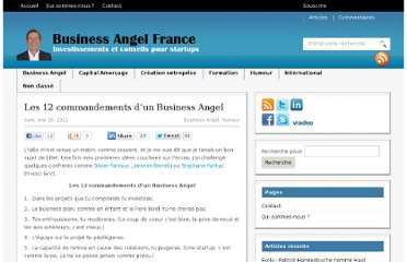 http://www.business-angel-france.com/les-12-commandements-dun-business-angel