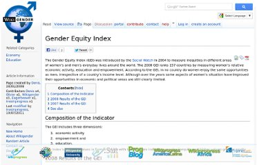 http://www.wikigender.org/index.php/Gender_Equity_Index