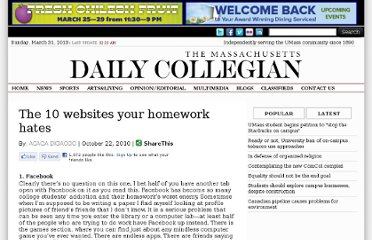 http://dailycollegian.com/2010/10/22/the-10-websites-your-homework-hates/