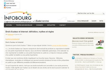 http://www.infobourg.com/2011/01/06/droit-auteur-et-internet-definition-mythes-regles/