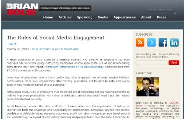 http://www.briansolis.com/2011/03/the-rules-of-social-media-engagement/