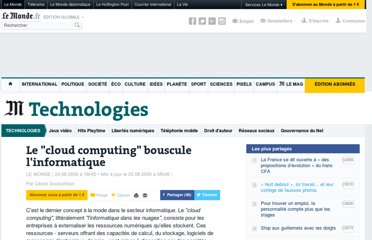 http://www.lemonde.fr/technologies/article/2009/08/24/le-cloud-computing-bouscule-l-informatique_1231357_651865.html