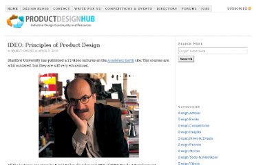 http://productdesignhub.com/2010/04/ideo-principles-of-product-design/
